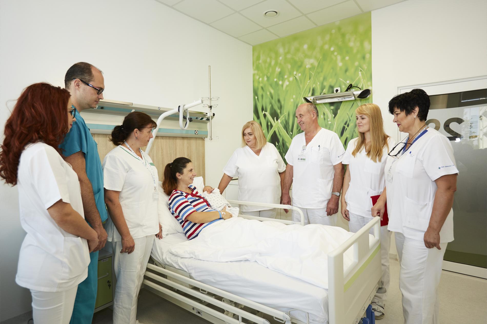 Moja pôrodnica nemocnica Svet zdravia Michalovce