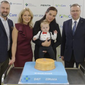 Michalovská nemocnica oslávila narodeniny s prvým novorodencom