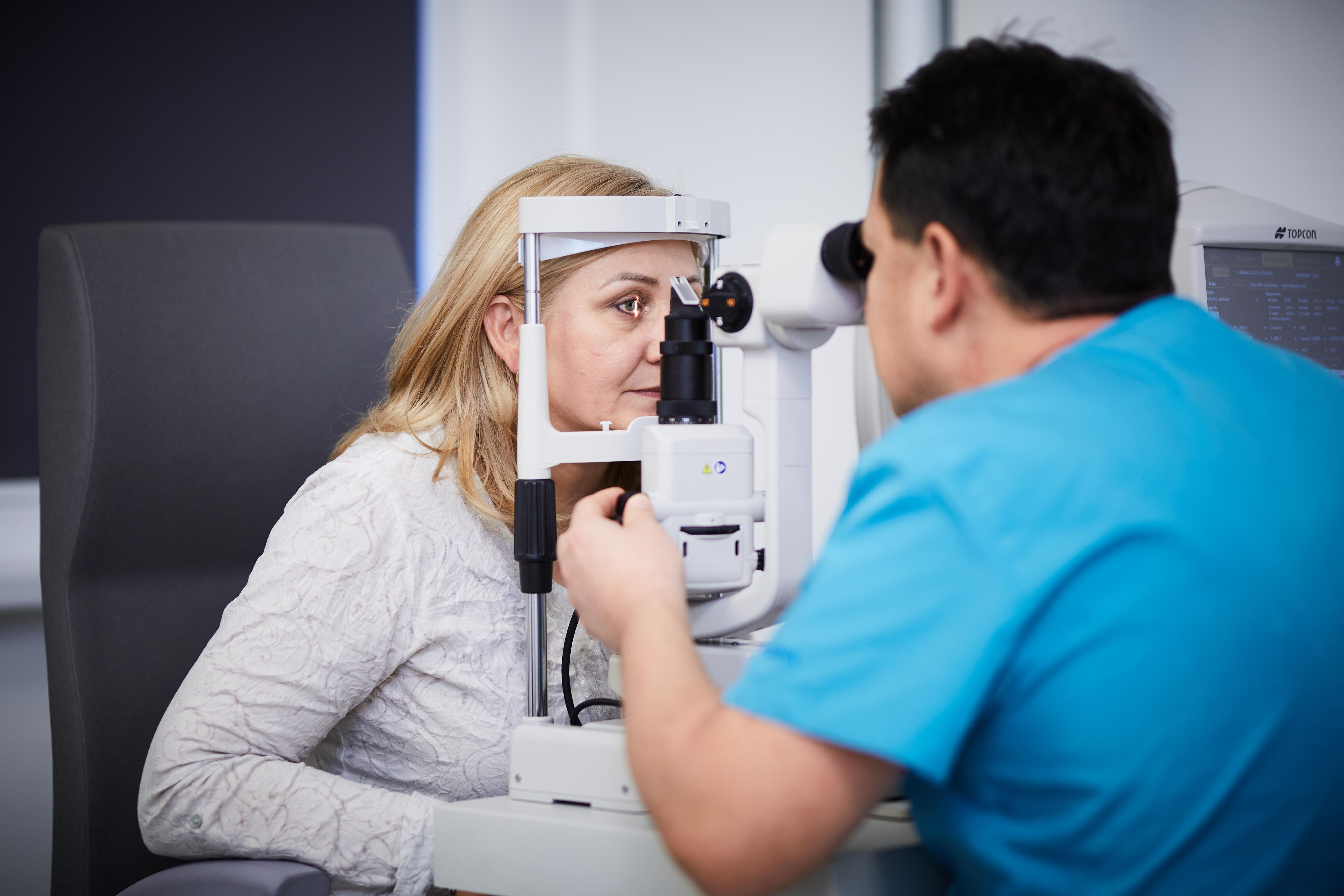 Očná jednodňová chirurgia v Nemocnici Svet zdravia Galanta
