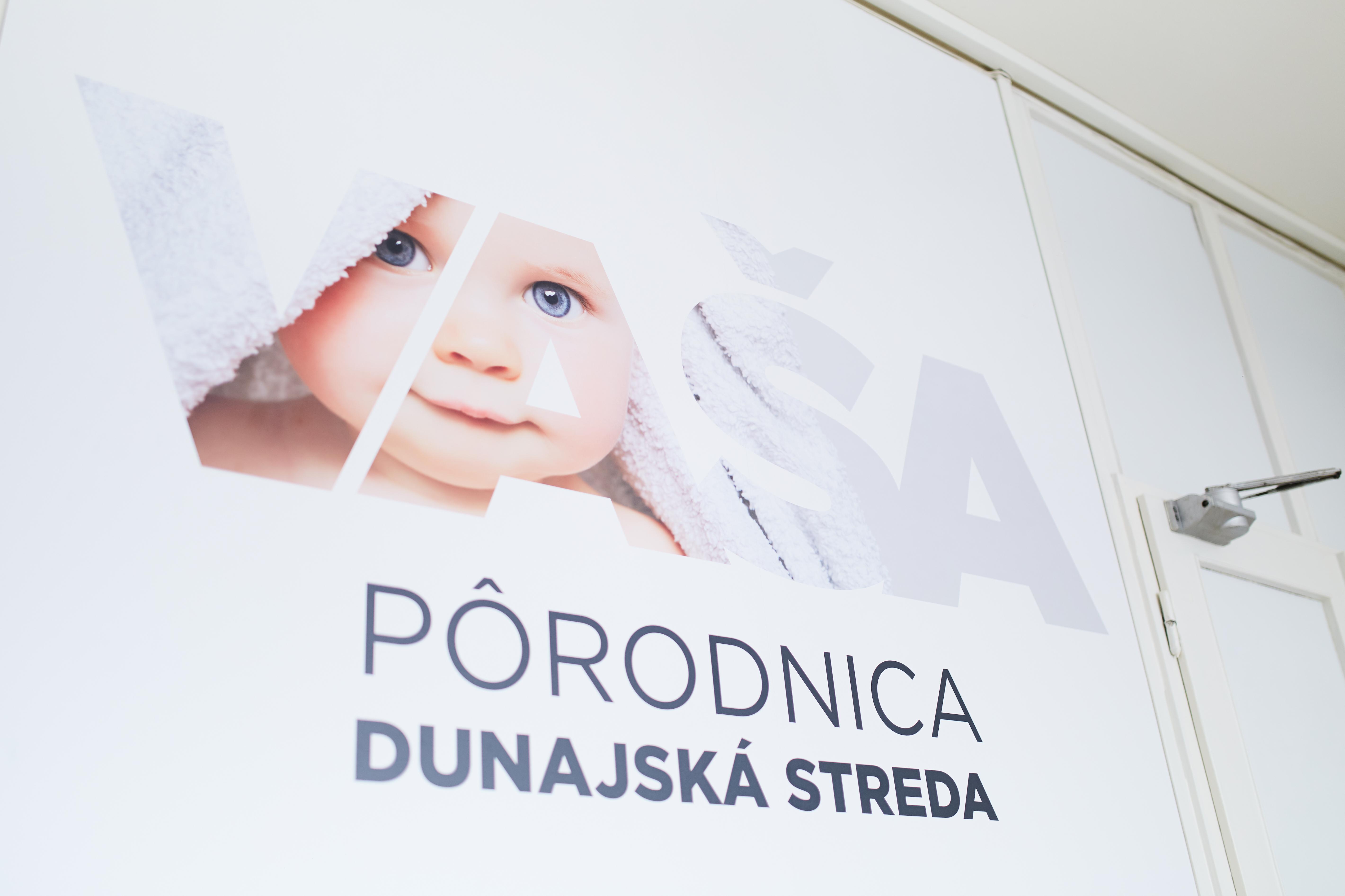 Pôrodnica v Nemocnici Svet zdravia Dunajská Streda