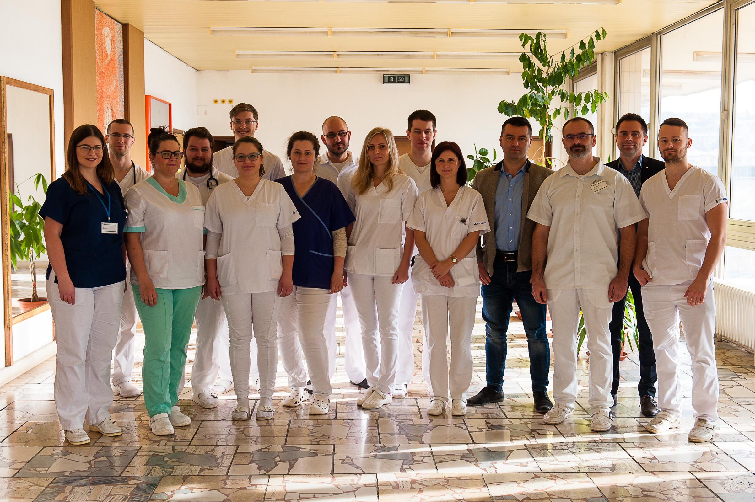 Jesenný camp internistov v Nemocnici Svet zdravia Rožňava