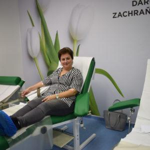 Pani Katka prišla darovať krv už 17-ty krát