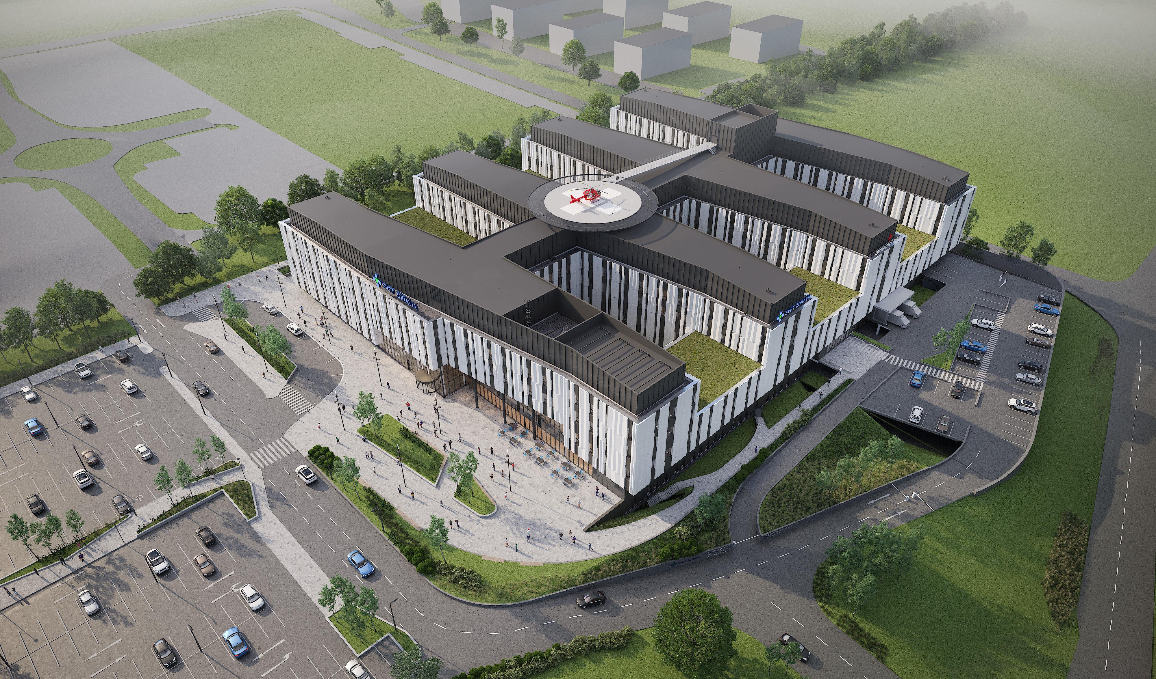 dbd02cf947 Aj taká bude prvá koncová nemocnica novej generácie siete Svet zdravia