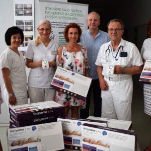 Vranovská nemocnica dostala pre novorodencov monitory dychu